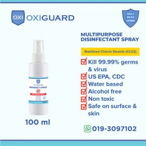100ml disinfect spray bottle